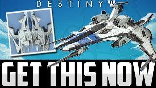 Destiny: GET THIS NOW! How To Get Rarest Ship Ever! (LIMITED TIME)