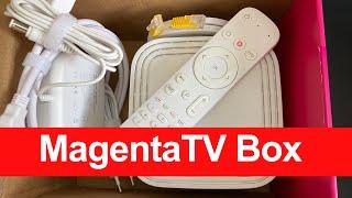 MagentaTV Box Deutsche Telekom, Weiß, 40868874 | Die neue TV Receiver-Generation | Unboxing & Setup