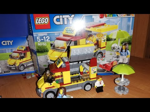 LEGO CITY/LEGO CITY PIZZA/КОНСТРУКТОР ЛЕГО СИТИ