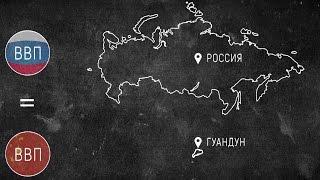 КИТАЙ vs РОССИЯ: победа всухую. Наглядная экономика