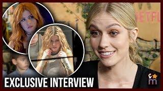 "Katherine McNamara Teases ARROW, ""Twisted"" SHADOWHUNTERS Finale & Dream Role"