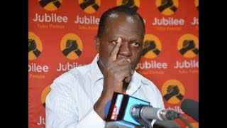 Top Jubilee Party officials missing-in-action as MacDonald Mariga fails to meet the cut