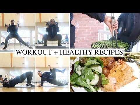INTENSE GYM WORKOUT + GRILLED FISH IFTAR RECIPE | The Ramadan Daily | Aysha Abdul