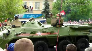 Крым, Симферополь, 9 мая.  Парад военной техники.