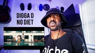 Digga D - No Diet ❌🥤 (Music Video) [Reaction] | LeeToTheVI