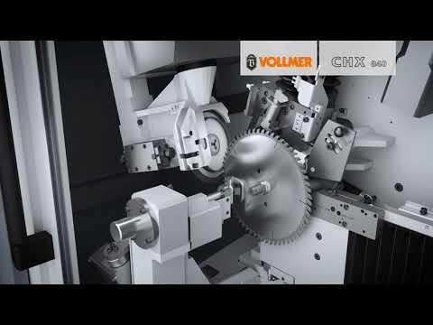 Schärfmaschine für Kreissägeblätter // VOLLMER CHX 840 und CHX 1300