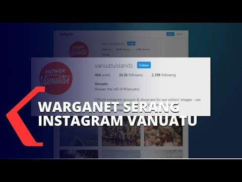 gara-gara tudingan ham papua warganet banjiri instagram pariwisata vanuatu