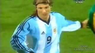 Último Partido De Caniggia En La Selección Argentina - 27/03/2002