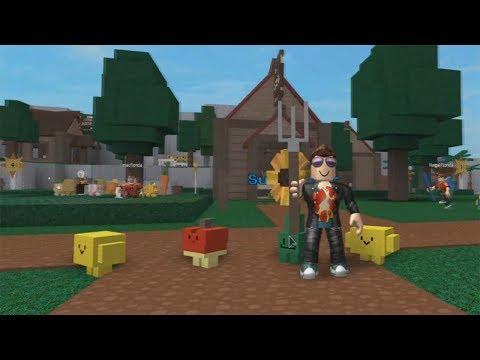 ROBLOX: O VELHOTE VIROU JARDINEIRO E CRIOU SEMENTES MÁGICAS! (Gardening Simulator)