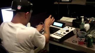 araabMUZIK Studio Session With Alchemist
