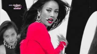 Lee Hyori - Bad Girls (2013.06.08) [Music Bank w/ Eng Lyrics]