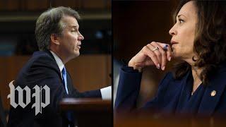 Harris questions Kavanaugh on the Mueller probe