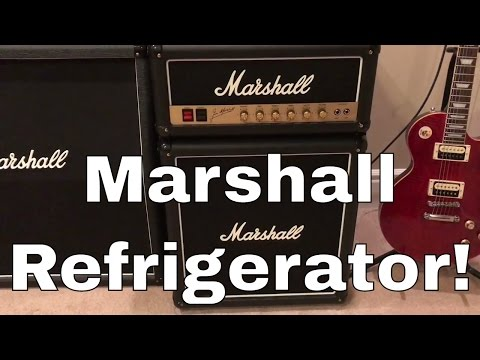 Marshall Guitar Amp Refrigerator Review