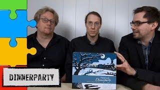 #Dinnerparty - Tod im London Express (BrettspielSuchties KrimidinnerGroup)