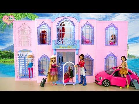 Spielzeugvideo Fur Kinder Eine Uberraschung Fur Barbie Spielspass