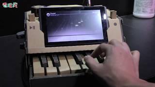 《DEEMO》運用「任天堂實驗室」的紙箱鋼琴來玩吧TGS2018試玩