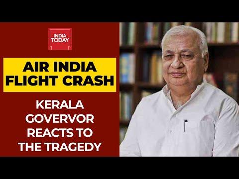 Kerala Air India Crash Updates: Kerala Governor Arif Mohammed Khan Offers Condolences