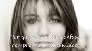 Miley Cyrus - Don't wanna be torn - legendado