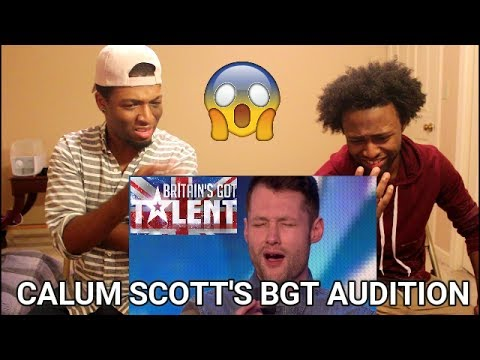 Golden boy Calum Scott hits the right note | REACTION | Britain's Got Talent 2015 (видео)