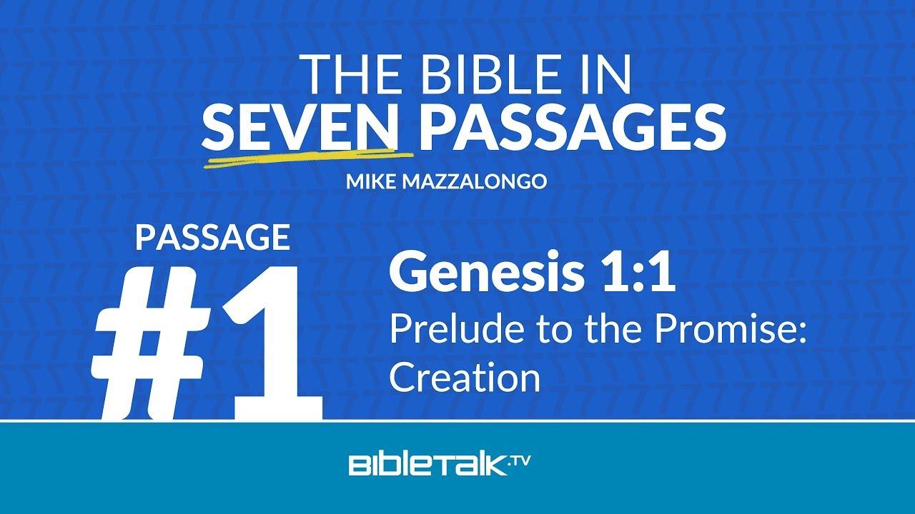 Passage #1 – Genesis 1:1