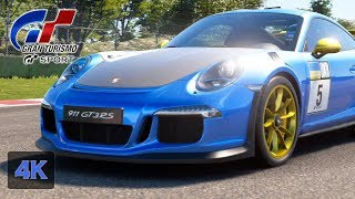 Gran Turismo Sport Onboard [4K] Amazing Porsche 911 GT3 RS Online Race Fia GT Nations Cup Maggiore