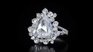Brilliant Rose Cut Diamond Ring by Martin Katz