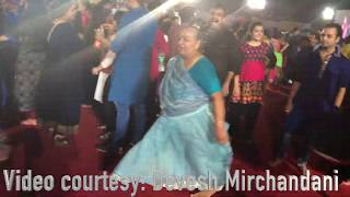 Grandma Dancing Garba Better than youngsters (video by