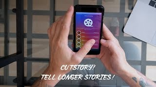 How to post longer than 15 second videos in instagram stories through cutstory