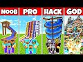 Minecraft FAMILY WATERPARK BUILD CHALLE