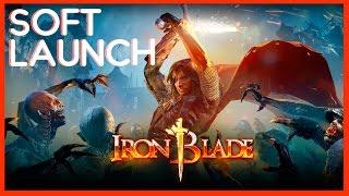 IRON BLADE - RPG + ação (soft launch, iOS e Android)