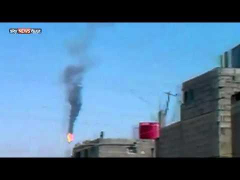 الجيش الحر يسقط طائرة للجيش النظامي
