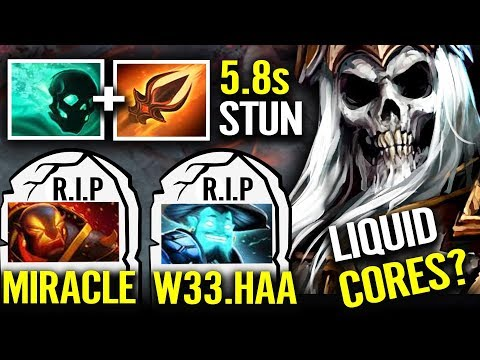 Look Like W33 and MIRACLE 100% got Counter this RANKED Match - IMBA Stun New Strategy Dota 2