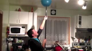 Jessie Bowl to Ceiling prank Backfire!!
