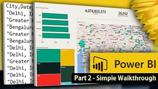 Power BI Desktop for Beginners: Create your first Power BI report and dashboard in 10 minutes