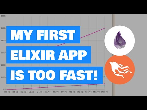 My first Elixir / Phoenix app is too fast!
