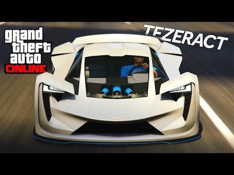 GTA 5 NEW LAMBORGHINI! Pegassi Tezeract Customization And Gameplay