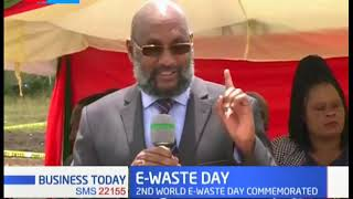 Kenyans joins the rest of the world to mark the 2nd E-Waste day in Nairobi's Utawala