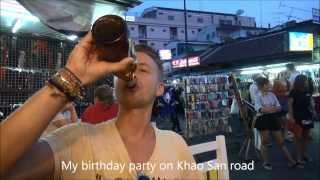 Bangkok & Erik\\\'s 29 Års Fødselsdag
