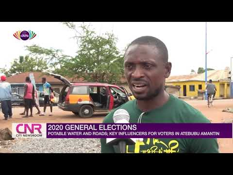 Potable water, roads among key issues to determine direction of votes in Atebubu Amantin | Citi Tube