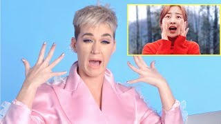 """KATY PERRY REACTS TO TWICE - """"What is Love?"""""""