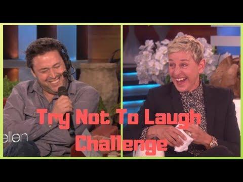 Andy Funniest Moments on Ellen (видео)