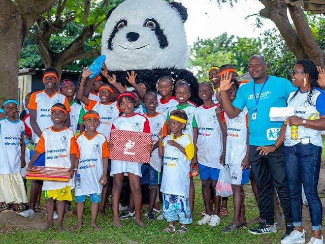 Allianz promeut les valeurs des Jeux Olympiques en Côte d'Ivoire