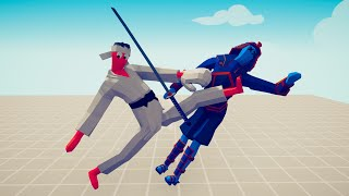 KICKBOXER FIGHT 1vs1 ALL UNITS WITH HEALTHBAR   TABS – Totally Accurate Battle Simulator