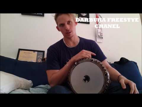 Video Trik Cara bermain Darbuka Anthem