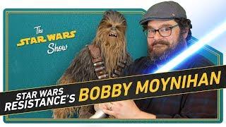 Star Wars Resistance's Bobby Moynihan Discusses SNL, Matt, Radar Technician, and Star Wars Fandom - Video Youtube