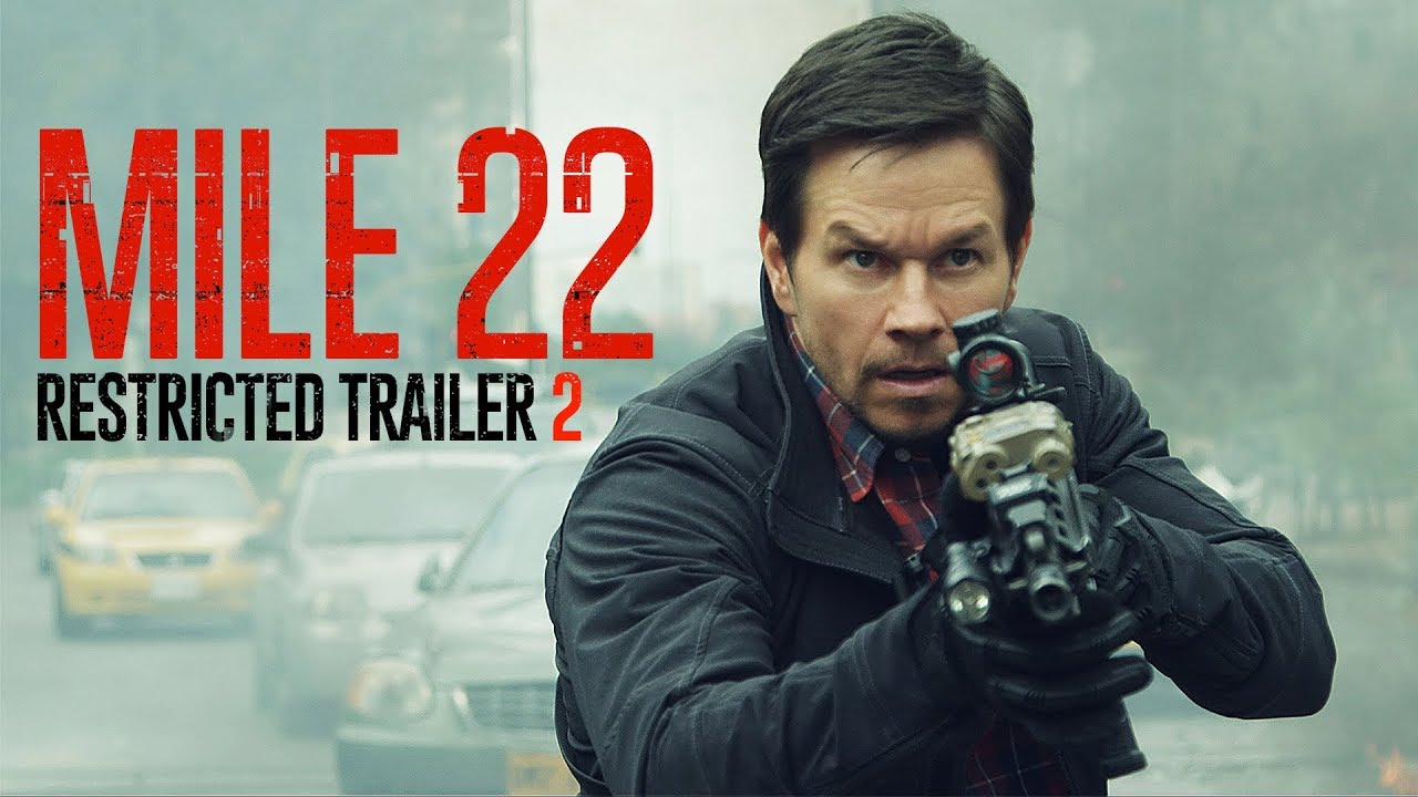 Trailer för Mile 22