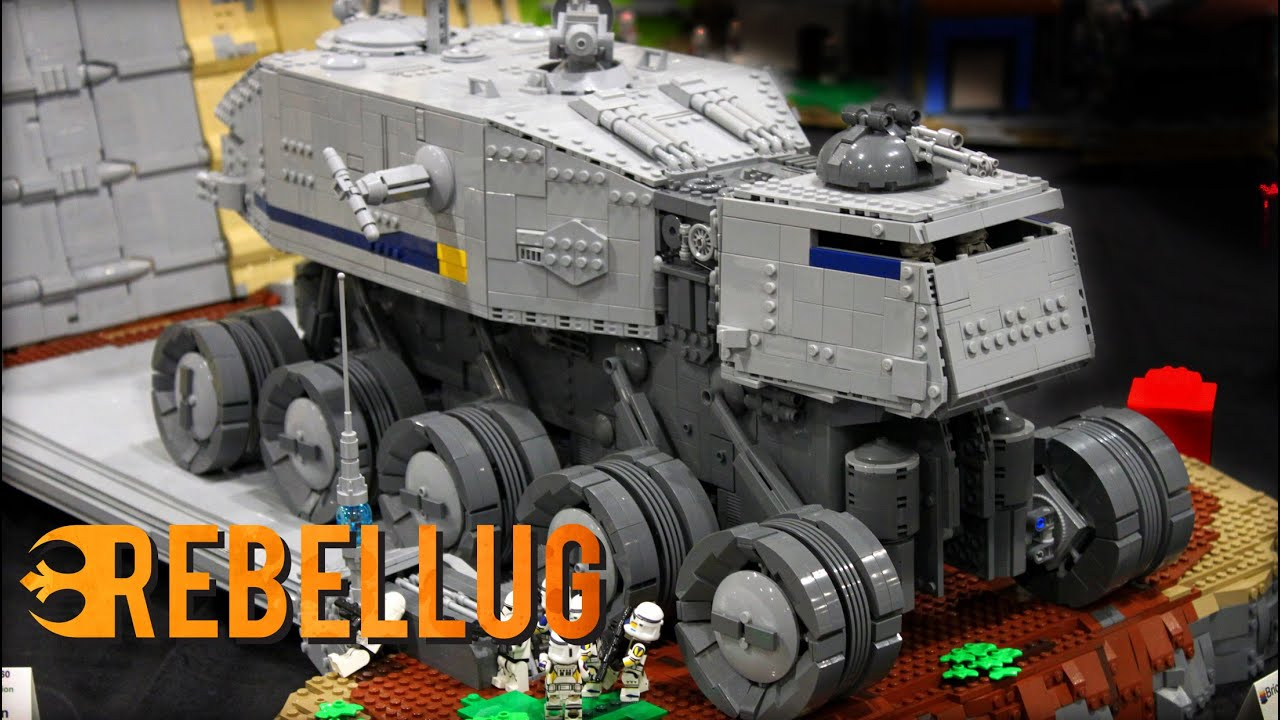 BEST LEGO MOCs at BrickWorld Chicago 2019! EPIC Star Wars Creations, Amazing LEGO Castle Builds!