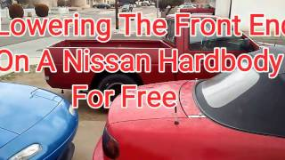 Nissan Hardbody Torsion Bar Adjustment