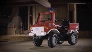 Minama gaisrinė mašina 3-10 m | Mercedes Benz | Rolly Toys 036639