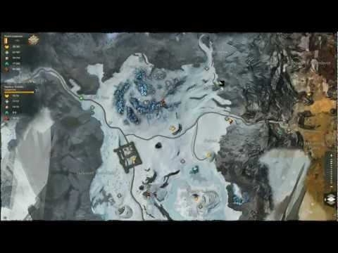 Guild Wars 2 Wayfarer Foothills Completed Map Mp3